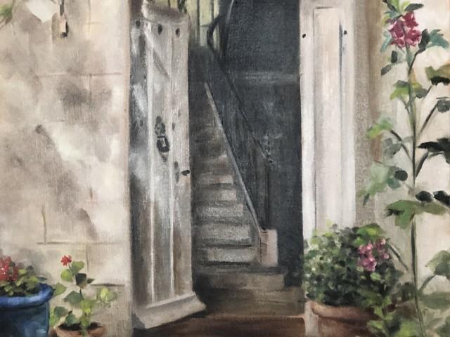 Jules Bitrot Gourmand Derrière la porte