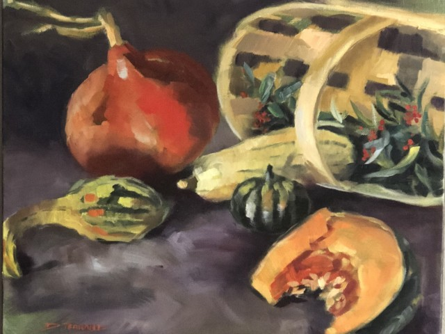 Jules Bitrot Gourmand Les courges