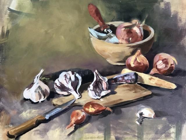 Jules Bitrot Gourmand Oignon, ail, échalotes